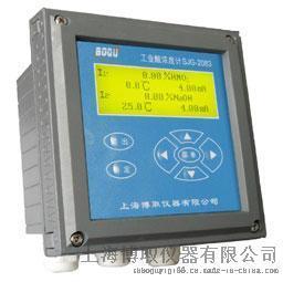 上海博取水质监测分析SJG-2083D型多通道工业酸碱浓度计