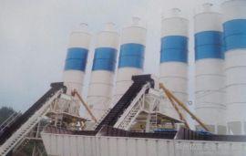 HZS50型混凝土搅拌站 亿立实业 双卧轴强制式混凝土搅拌机