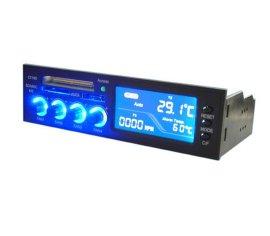 电脑机箱读卡器带E-SATA接口, 带LCD(STW-ICR-022)