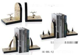 欧式创意桌面小书架别墅摆件书架饰品创意家居软装饰品