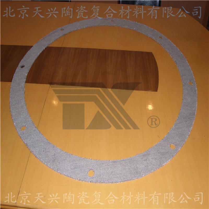 天兴 陶瓷纤维布垫片 高温法兰密封件