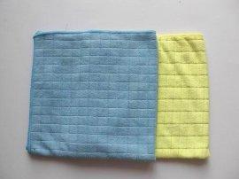 纬编格子毛巾