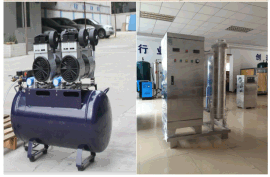 YT-018外置气源高浓度臭氧发生器制氧机,泳池水海洋馆臭氧消毒广州厂家直销