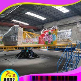 广场游乐设备飞天转盘商丘童星游艺设施生产厂家经营