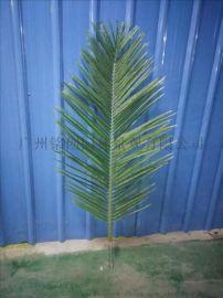 广州室内外仿真椰子叶厂家