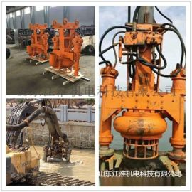 高铬耐磨合金抽沙泵 JHY挖机清淤泥泵