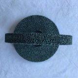 进口蜂窝绿碳化硅大气孔砂轮 磨橡胶胶辊专用