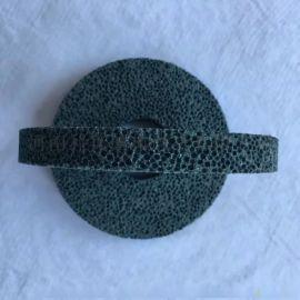 进口蜂窝绿碳化硅大气孔砂轮 磨橡胶胶辊
