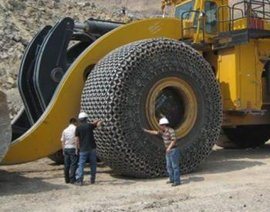 天山轮胎保护链装载机保护链防滑链