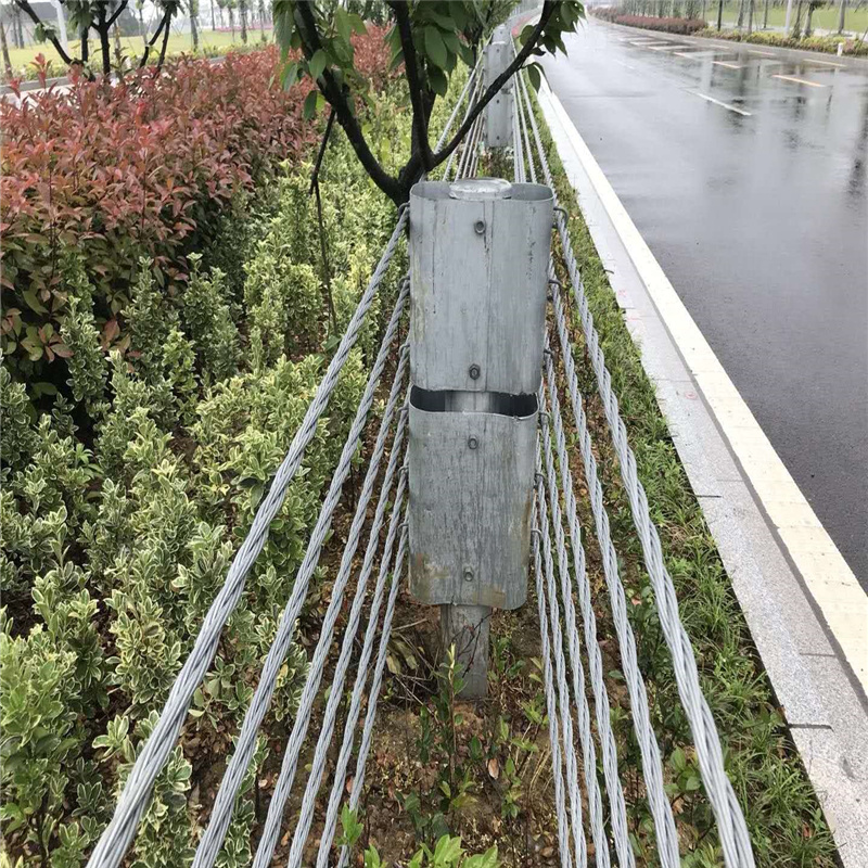 钢索护栏厂家@景区钢索护栏厂家@订做钢索护栏