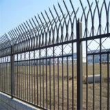 小区围墙铁艺围栏 锌钢护栏网方管防护栏