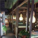 新中式燈具廠家 明璞新中式吊燈 異型燈葫蘆鐵藝吊燈