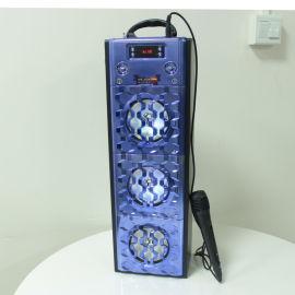 爆款蓝牙音响 七彩灯蓝牙音响 无线连接 户外便携式