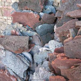 火山石板 玄武岩板 红色黑色火山石板材