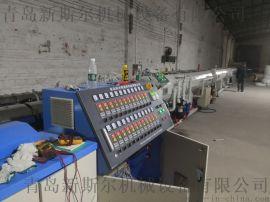 PE供水管高速挤出设备,PE管材挤出生产线