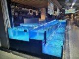 东莞企石镇超市海鲜池定做  企石镇水产店海鲜池定做