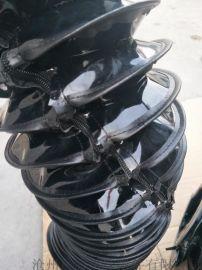 拉链式油缸防尘套,方便拆卸检修拉链式油缸防护套