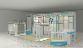 设计成都母婴母婴店展柜/展示柜/货柜货架定做工厂