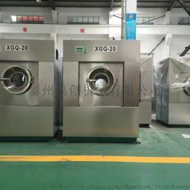 工业全自动洗脱机100公斤洗衣机禹创洗涤设备