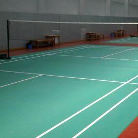 羽毛球场隔振垫 球场地板材料 减振地板 羽毛球场垫