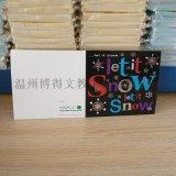 兒童卡通聖誕老公公賀卡 節日賀卡 外貿聖誕賀卡定製logo