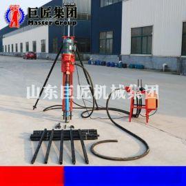 电动冲击回转式联动型潜孔钻机