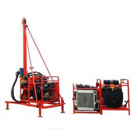 回转式山地钻机钻孔速度快 四川页岩层专用山地钻机