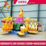 儿童新型游乐设备报价欢乐袋鼠跳12人色彩清新