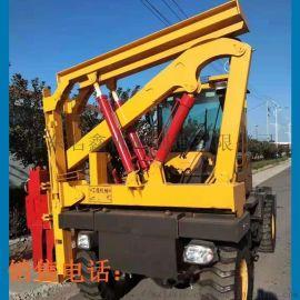 高速公路护栏打桩机 装载式护栏打桩机