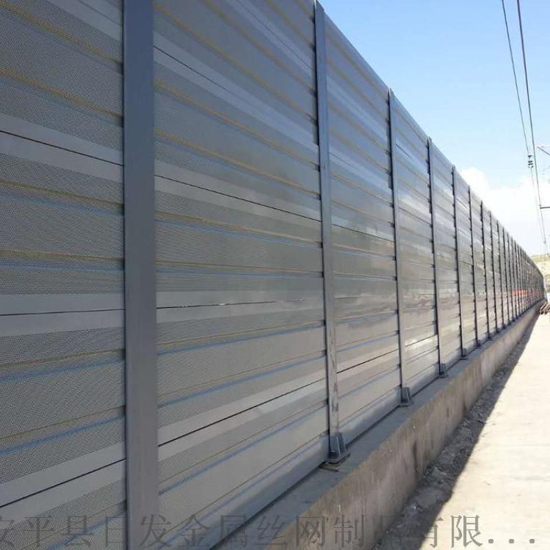 声屏障厂家、高速声屏障、桥梁吸声屏障