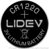3.0V扣式锂锰电池CR1220-40mAh