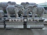 专业生产石雕大象 青石大象 寺庙门口摆放石雕大象
