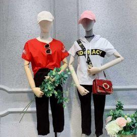 女装短袖t恤北京唯众良品崇文门店库存尾货服装女式棉衣玖姿女装