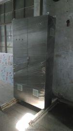 不锈钢ES机柜厂家 ES并柜 通信柜前后开门库存