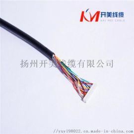 4芯0.5平方螺旋电缆弹簧电线
