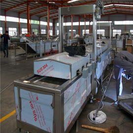 王氏 现货供应食品机械油炸设备 膨化食品油炸机 锅巴油炸机价格