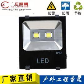 LED投光灯大功率户外防水射灯广告招牌灯防爆灯150瓦户外投射灯