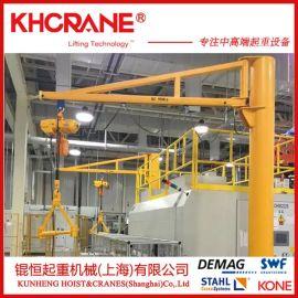 上海厂家直销高0.5T欧式移动式悬臂吊 小型旋臂起重机 轻型吊行车
