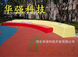 定做儿童乐园休闲座椅 玻璃钢长椅雕塑 景观装饰小品摆件厂家直销