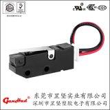 供应SW系列插线微动开关 5(3)A免焊自动售货机贩卖机专用微动开关