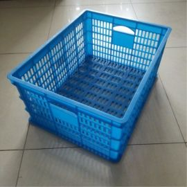 厂家直供 575*390*250 塑料筐 蔬菜周转筐 服装包装筐