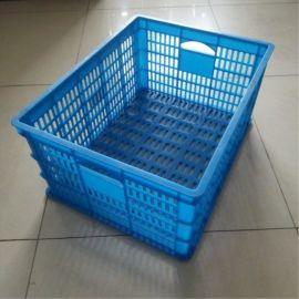 廠家直供 575*390*250 塑料筐 蔬菜周轉筐 服裝包裝筐