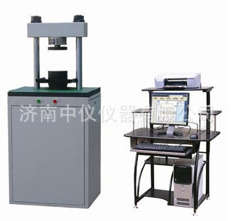 直供YAW-300C微機控制恆應力壓力試驗機 300KN空心磚壓力試驗機