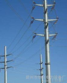 内蒙古赤峰10KV电力钢杆、钢管桩基础及太阳能路灯杆