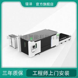 敞开式小型光纤激光切割机全钢板焊接机身稳定性好