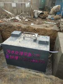 江西南昌湖水地埋一体化水处理设备誉德环保工厂直销