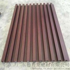 中庭幕墙铝合金长城板 30*30凹凸长城铝单板
