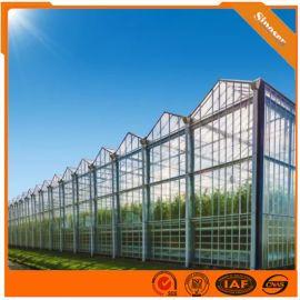 河北玻璃温室工程承建 玻璃温室建造  温室材料