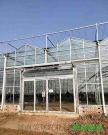 文洛型连栋玻璃温室方位尺寸设计说明
