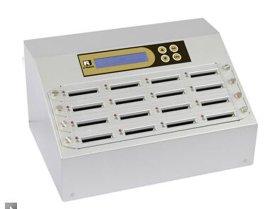 佑华CF卡拷贝机CF916-G工控CF卡复制机 可实时监控生产情况 闪存卡银狐机